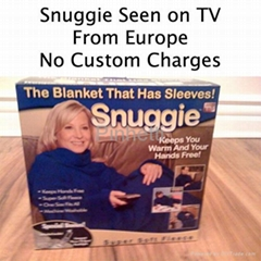 Snuggie TV BLANKET FROM EUROPE SHIP IN 2 BUSINESS DAYS