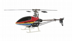 6ch 450 gootch rc helicopter model kit/rtf