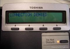 供应东芝集团电话10键数字电话机DKT3210-S