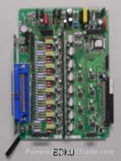 供应东芝集团电话8路数字分机板ADKU1A/BDKU1A