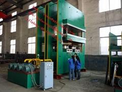 rubber mat vulcanizing press
