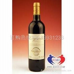 拉菲傳奇波亞克紅葡萄酒