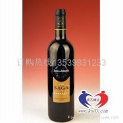進口紅酒批發-拉菲傳說紅葡萄酒