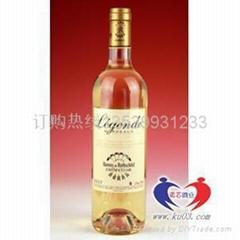 【進口紅酒】拉菲傳奇干白