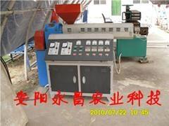 永昌無支柱鋼塑復膜溫室大棚骨架機 1