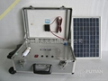 potable solar power box