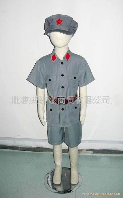 儿童红五星演出服 1