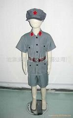 儿童红五星演出服