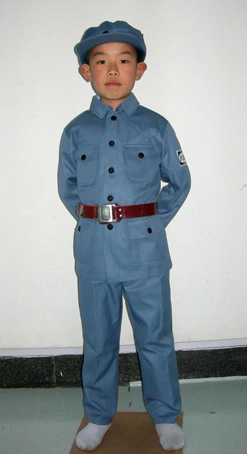 儿童老军装舞台服装 1