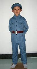 儿童老军装舞台服装