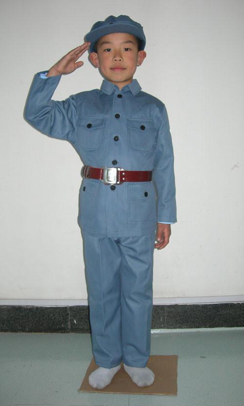儿童老军装舞台服装 2