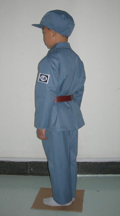 儿童老军装舞台服装 3