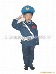 儿童PLA服小飞行服
