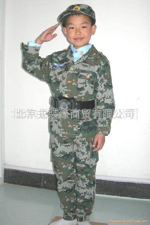 儿童迷彩服 1