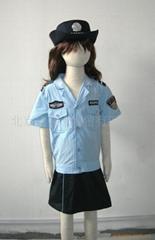 儿童POLICE服夏装套装