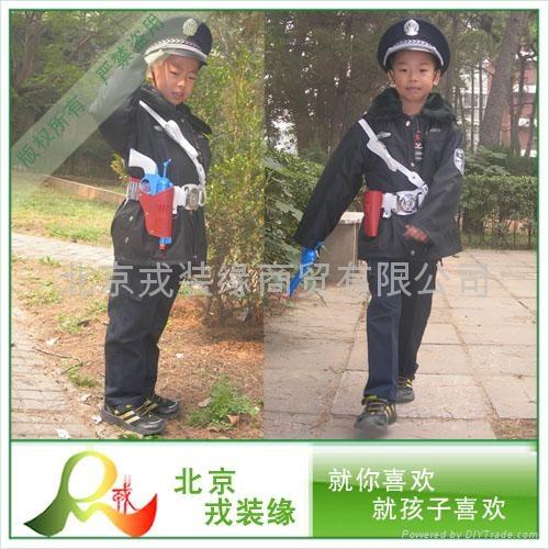 儿童POLICE棉服  1