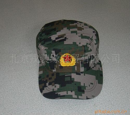 儿童迷彩帽 2