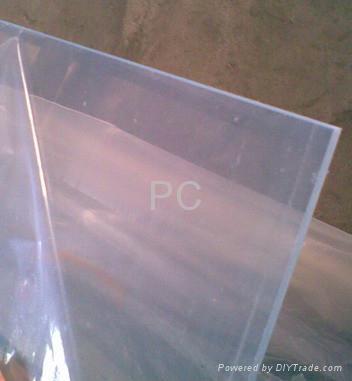 供应透明黑色PC聚碳酸酯板棒 1