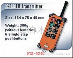 禹鼎单梁起重机无线遥控器F21-E1B价格