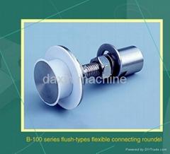 Flush-type flexible connecting