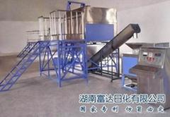 Washing powder production machine