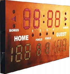 Indoor & Oursooe Sports Scoreboard