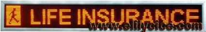 LED display Screen (16-160 indoor Strip Display) 1