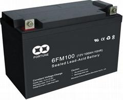 Sealed Rechargeable Lead-Acid Battery (6FM100(12V100AH/10HR))