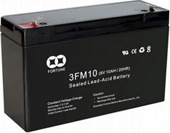 Sealed Rechargeable Lead-Acid Battery (3FM10(6V10AH/20HR))