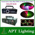 AC100-250V 500MW Full Color RGB Animation Laser Stage Light Laser Disco DJ Party