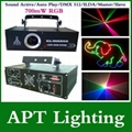 AC110-250V 700mW Full Color RGB Animation Laser Stage Light Laser Disco DJ Party