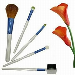 5pcs mini travel make up brush set