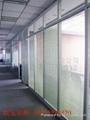 双玻百叶隔断-上海特价玻璃隔断