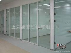 单层钢化玻璃隔断