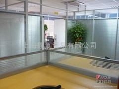 电动百叶玻璃隔墙