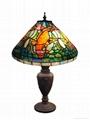 Tiffany Fish Table Lamp