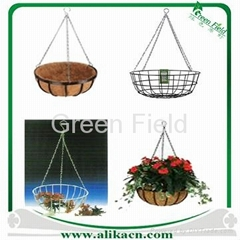 Wire Hanging Basket with Coco Liner Sets