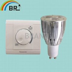 High power led spotlight GU10 6w LED bulb tubes lamp downlighting