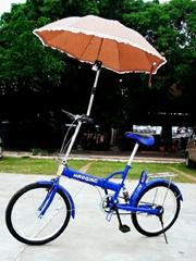 好心情自行车撑伞架
