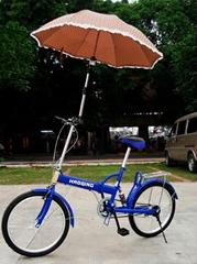 自行車撐傘架