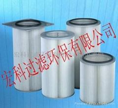 (宏科)燃氣輪機進氣系統自潔空氣過濾器