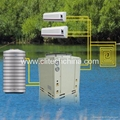 Air heat pump (cooling/heating/hot