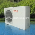 Air source heat pump cooling / heating