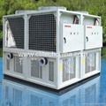 Heat pump chiller for commercial cooling