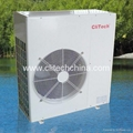 Heat recovery air source heat pump