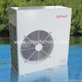 EVI Air Source Heat Pump For Low Temp