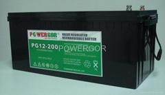 VRLA battery SB12-200