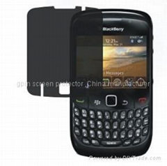 privacy screen protector film for blackberry 8520