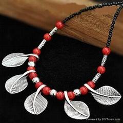 tibetan si  er necklace