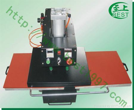 气动双工位烫画机印花机 1